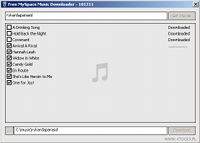 MySpace Audio Stream Downloader
